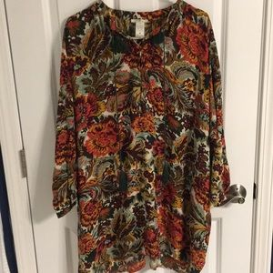 Cutest, most colorful hippie tunic!